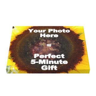 Projete meu próprio presente personalizado das can impressão de canvas envolvida