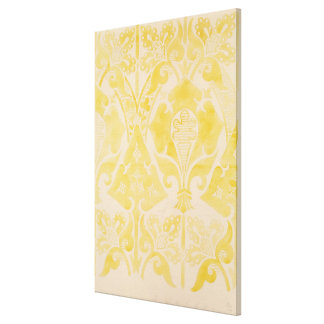 Projete para um brocatel de veludo ou de seda, 185 impressão em tela