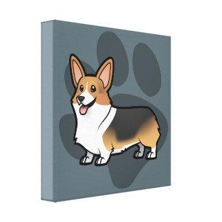 Projete seu próprio animal de estimação impressão de canvas esticadas