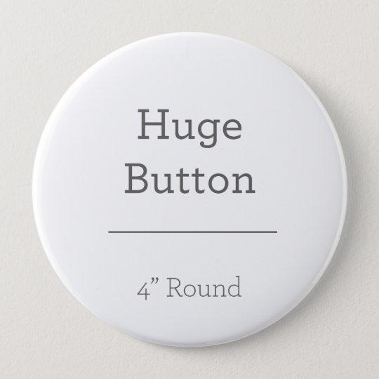 Enorme, 10,2 Cm Botão redondo