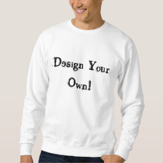 Projete seu próprio branco suéter