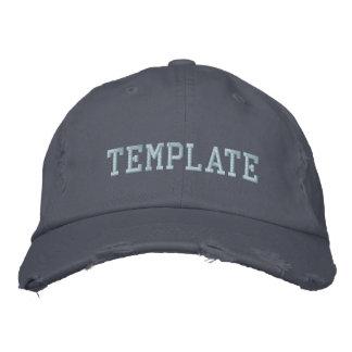 Projete seu próprio chapéu bordado boné bordado