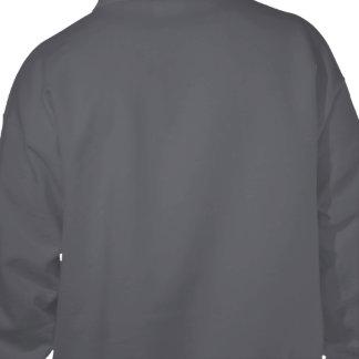 Projete seu próprio cinza escuro moleton bordado