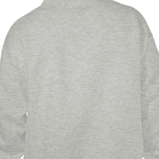 Projete seu próprio cinza jaqueta de moleton bordada com capuz