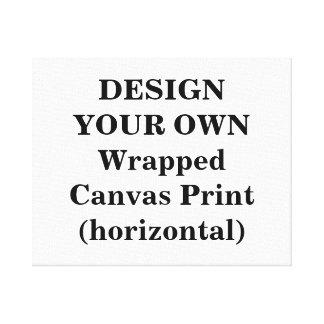 Projete seu próprio impressão das canvas (horizont impressão em tela