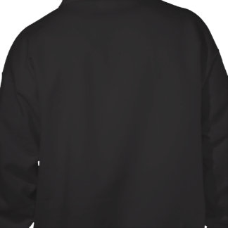 Projete seu próprio preto jaqueta de moleton bordada com capuz
