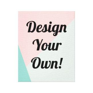 Projete seus presentes personalizados impressão de canvas envolvidas