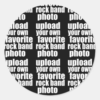 projete seus próprios foto (diy) do grupo de rock adesivo