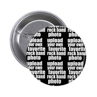 projete seus próprios foto (diy) do grupo de rock bóton redondo 5.08cm