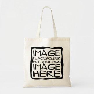 Projete sua própria sacola bolsa tote