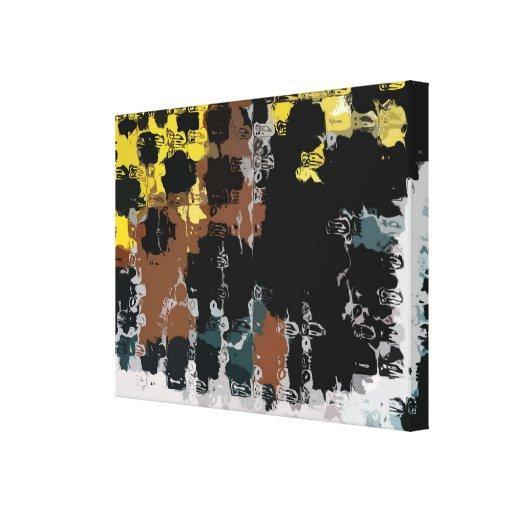 Projeto 15 - Abstrato Impressão Em Tela