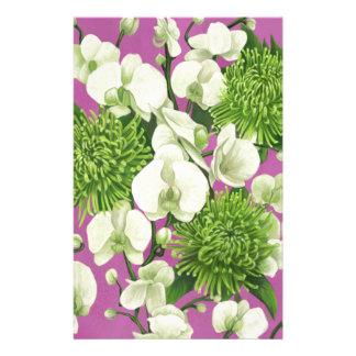 Projeto da flor da dália papelaria