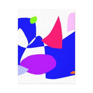 Projeto demorado para travar o azul da SK Impressão Em Canvas