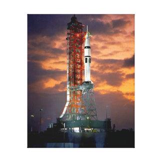 Projeto do teste de Apollo-Soyuz Impressão Em Tela