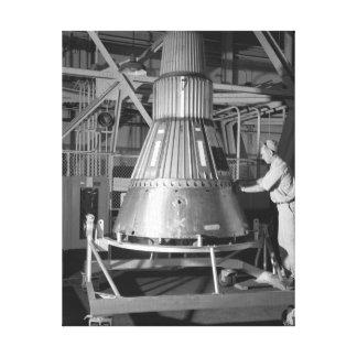 Projeto Mercury - fotografia da cápsula #2 Impressão Em Tela