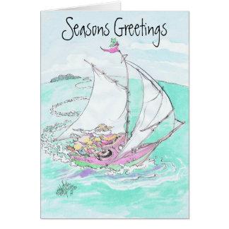 Projetos de cartão do Natal