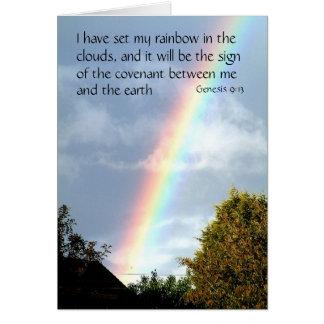 Promessa do arco-íris - génese 9 cartões de v 13%