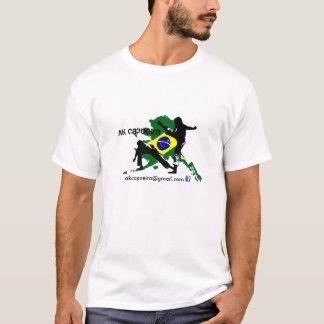 Promo da cor de AK Capoeira T-shirts