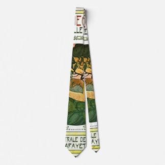 Promo francês 1901 da mostra de arte gravata