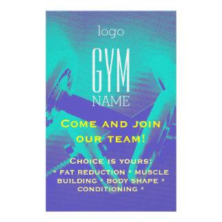 Promoção do insecto do Gym Flyer 13.97 X 21.59cm
