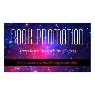 Promoção do livro cartão de visita