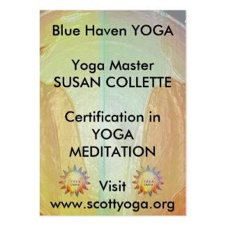 Promoção do negócio da ioga n Reiki Cartão De Visita Grande