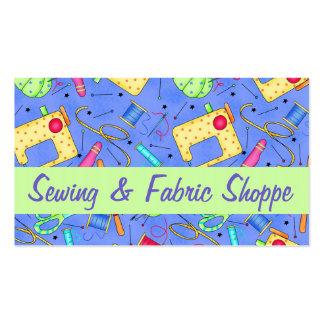 Promoção Sewing da loja do tecido da arte da Cartão De Visita