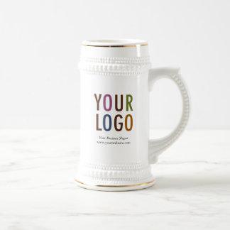 Promocional do logotipo de Café Cerveja Caneca de