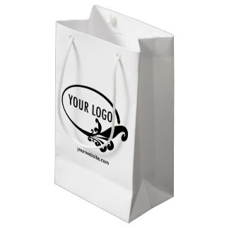 Promocional do logotipo de Pequeno Presente Saco Sacola Para Presentes Pequena
