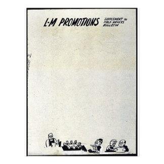 Promoções do L-M Modelos De Panfleto
