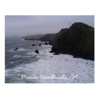 Promontório de Marín, cartão de CA