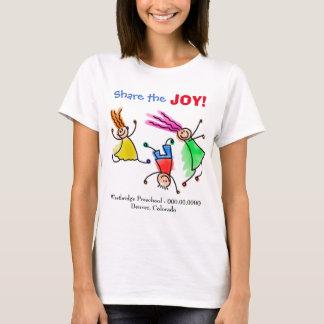 Propaganda alegre das crianças camiseta
