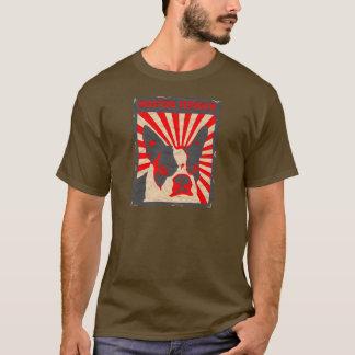 Propaganda Boston Terrier Camiseta