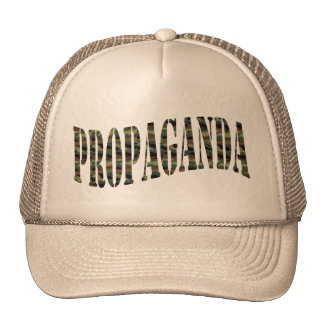Propaganda Camo exótico Bonés