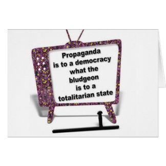 Propaganda Cartão Comemorativo