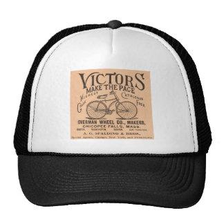 Propaganda da bicicleta do Victorian do vintage Boné