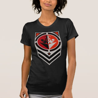 Propaganda da navio de guerra camisetas