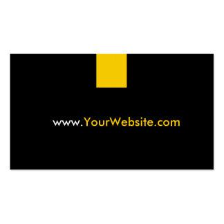 Propaganda da promoção do Web site - estilo Cartão De Visita