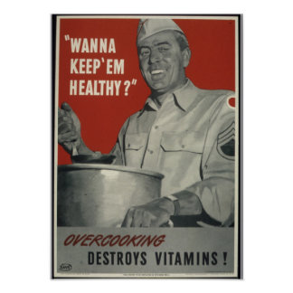 Propaganda do americano do vintage WWII Poster