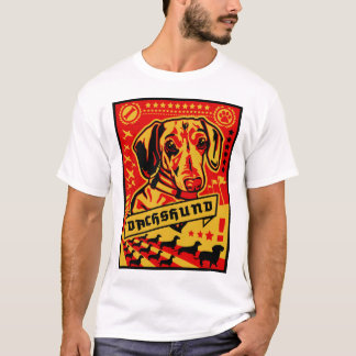 Propaganda do Dachshund Camiseta