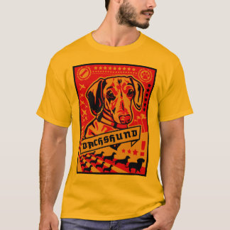 Propaganda do Dachshund T-shirts