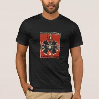 propaganda do t-shirt do aztk camiseta