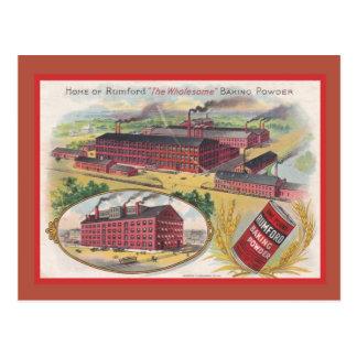 Propaganda do vintage, o fermento em pó de Rumbold Cartões Postais
