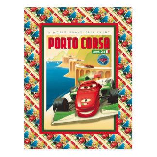 Propaganda do vintage, Porto Corsa, raça de carro Cartao Postal