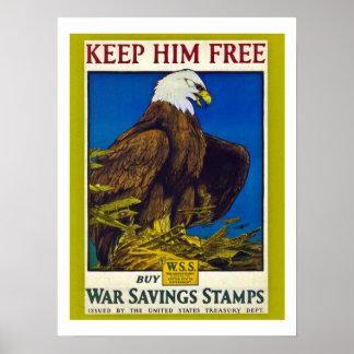 Propaganda do vintage posteres