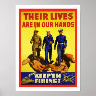 Propaganda do vintage poster