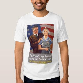 Propaganda do WW1 da mulher Tshirt