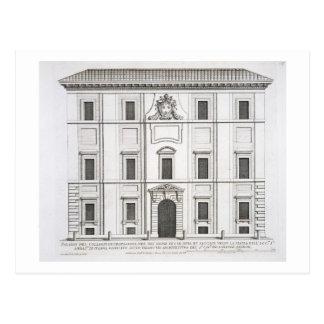 Propaganda Fide de Palazzo del Collegio de, 'do am Cartão Postal