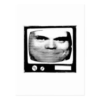 propaganda retro da tevê cartão postal