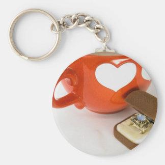 Proposta simples do casamento chaveiro